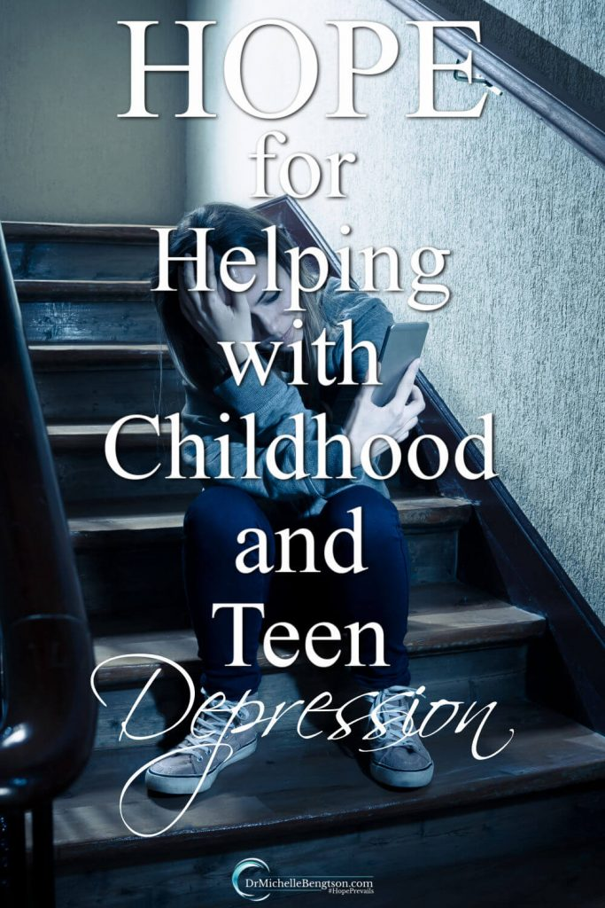 Many parents may be wondering if childhood or teen depression can be prevented? That's one of the questions we'll address in this post. We'll also be discussing what we need to know to best help those we love who are depressed. #teendepression #mentalhealth