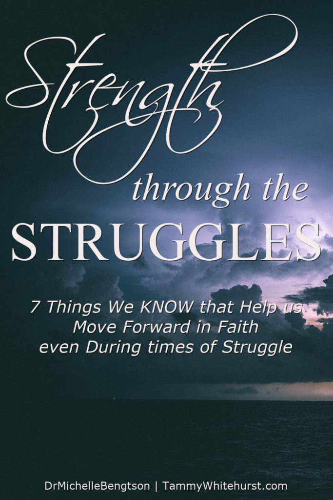 Sometimes life doesn't make sense. We wrestle, worry, wonder and even fear what might happen next. We struggle through the trials. But, in this post, we're talking about a hope-filled perspective: how to achieve strength through the struggles. #hope #faith #overcomer #encouragement