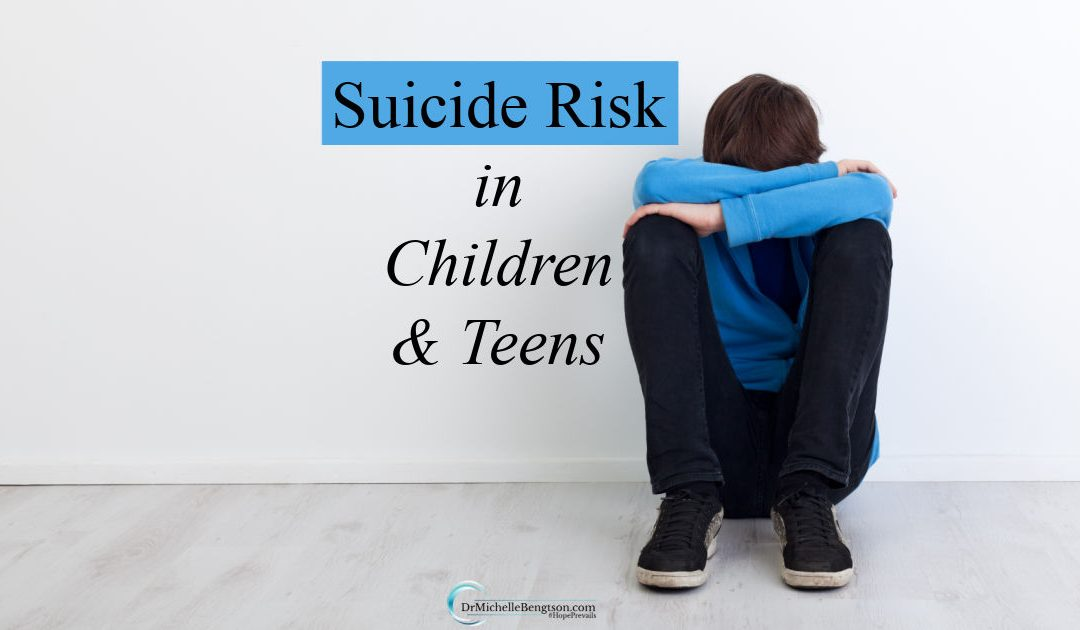 Knowing the suicide risks in children and teens as well as the warning signs could save lives.