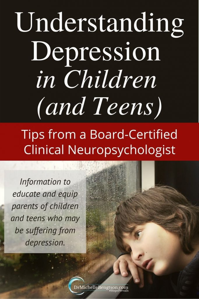 Some say childhood depression doesn't exist. But, that is simply not true. Children as young as 3 years old can have depression. Over the past three decades, as a board-certified clinical neuropsychologist, I've seen the incidence of childhood and teen depression rise significantly. Read more for what parents can do. #childhooddepression #overcomingdepression #mentalhealth