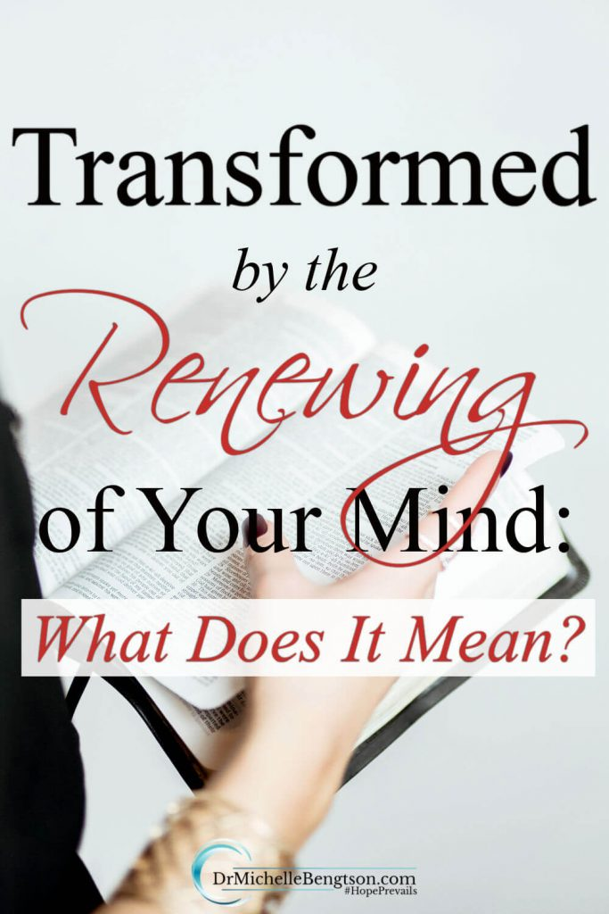 Have you ever wondered what it means to be transformed by the renewing of your mind? Or, how you would accomplish renewing your mind according to the Bible? In this article, we cover why renewing your mind is important and how to do it. #transformyourmind #thoughtlife #mentalhealth #hope #faith
