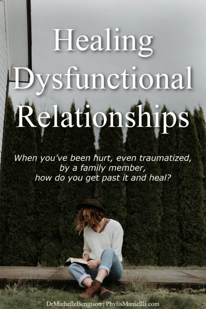 When you've been hurt, even traumatized, by a family member, how do you get past it and heal? How do you heal a dysfunctional relationship? Read more for how to begin the journey toward healing, happiness and peace. #dysfunctionalrelationships #hope #faith