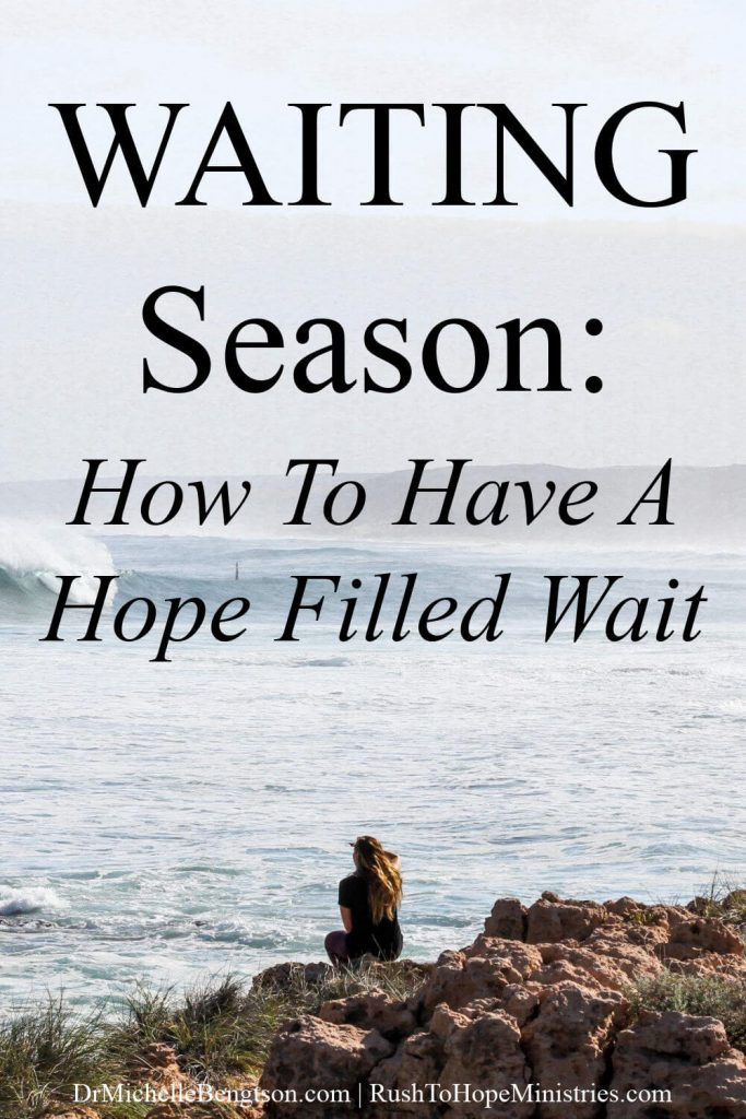 Have you ever been in a waiting season? Maintaining your hope during a waiting season can be so hard. Trusting God during a season of waiting can lead to peace and bring renewed hope. #waitingonGod #hope #faith