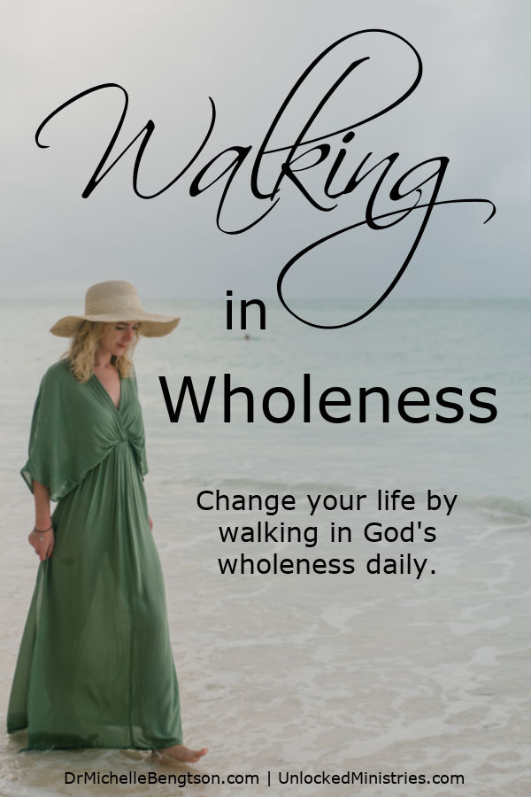 These days, more than ever, we're under pressure to pretend that life is easy and that we've got it all figured out. We may look good on the outside, but what about the inside? What if the answer is walking in wholeness? Kerrie Oles shares how we can surrender to God and see our life begin to change by walking in His wholeness daily. #faith #hope #trustGod