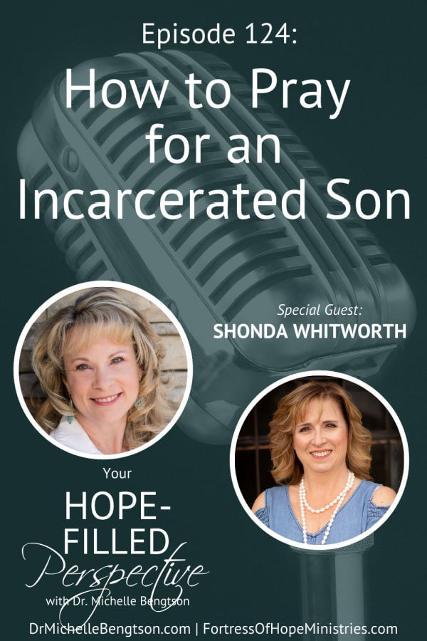 On today's podcast, Shonda Whitworth found herself in one of the worst situations a parent could face. Her son had been arrested, charged with murder, and incarcerated. She shares how she learned to pray for her incarcerated son while maintaining hope. Then, how she continued to pray even when it seemed God wasn't answering.