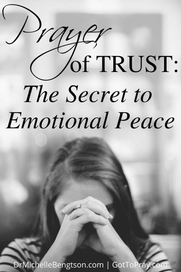 Sometimes our emotions hold us captive or take us hostage, leaving us without words to pray. Linda Evans Shepherd has certainly had her share of life's difficulties. Through her journey, she discovered the peace of God can transform pain. The prayer of trust is the secret to emotional peace and relief for shattered emotions. #prayer #hope #faith #parenting