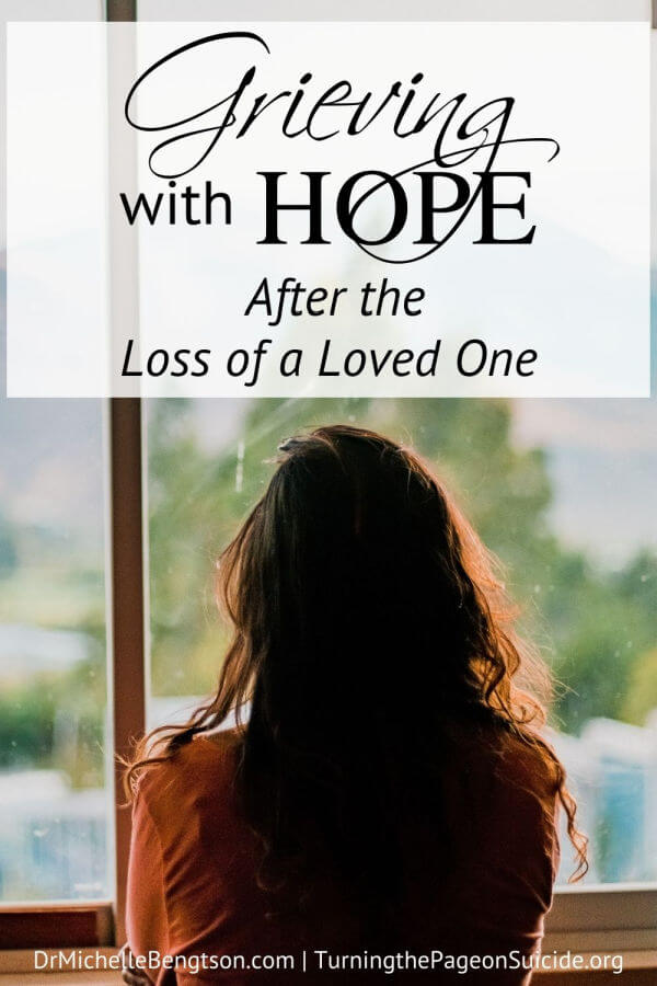 Grieving with hope after the loss of a loved one to suicide is possible even when it seems impossible. While suffering the heartache of losing her son, Karisa Moore stands firm and chooses to grieve with hope. She shares with us the tools and habits she is using as she walks through grief and trials. Hope in Jesus never disappoints.