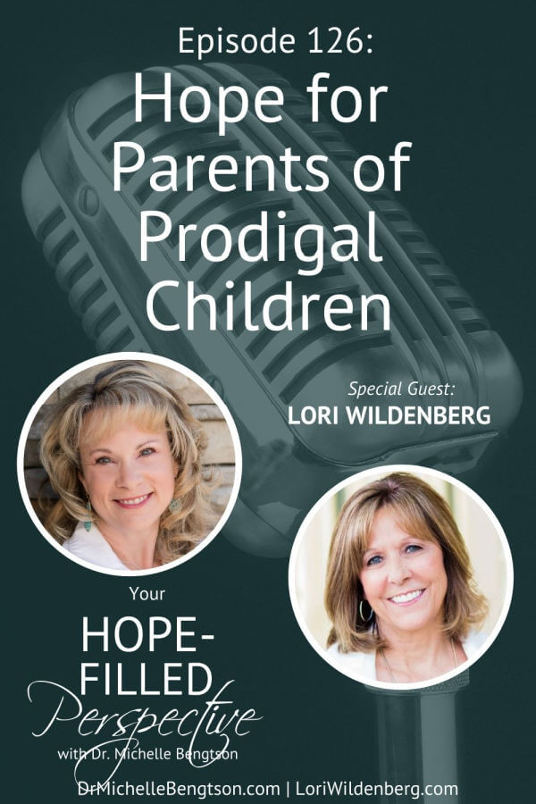 Lori Wildenberg and I talk about hope for parents who have a prodigal child or whose child is making decisions we wouldn't wish for them. We have a vision of where we hope our children will go and how we hope they will follow the Lord. We hope they live a life that is God's best for them. What do you do when the person you love, a sibling, or child has stepped off the expected path? Lori shares how to build a bridge and keep connections going in the midst of a prodigal situation on today's podcast.