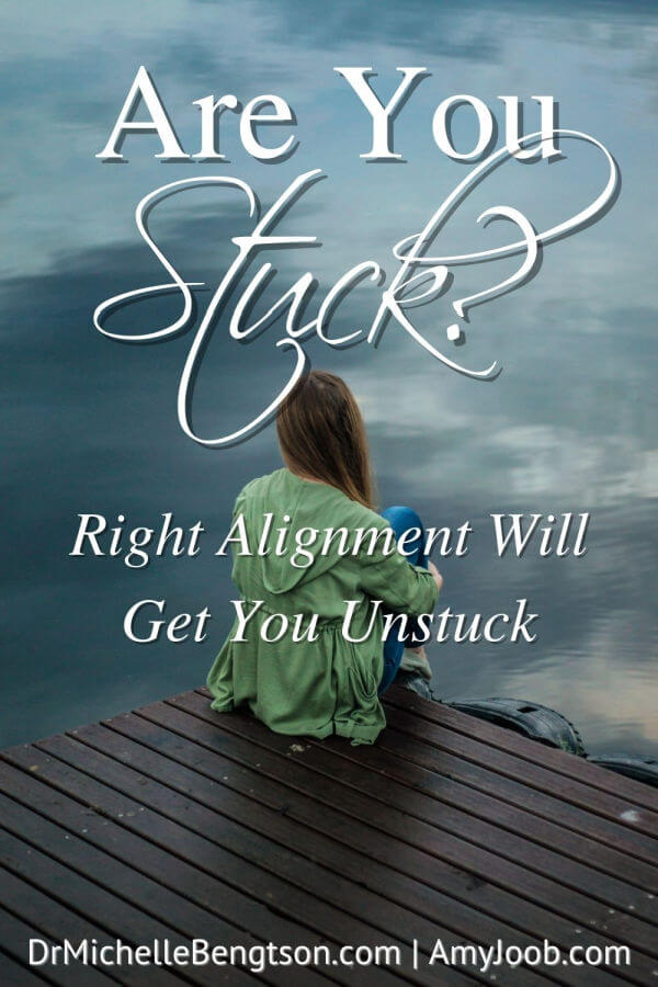 Have you ever felt stuck? Stuck in a relationship? Stuck in a career or job? Stuck in your finances? We've probably all been there at one time or another. Today, Amy Joob shares the key she found to getting unstuck. It's a process and may not be easy at the beginning, but it is so worth it in the end!